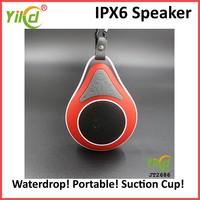 YIKD IPX6 Water Resist Portable Bluetooth Wireless Speaker JT2686 (Red)