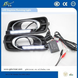hiway daytime running light High Qulaity LED DRL for Honda City 2012-2013 led car light special auto parts light