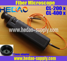 CL-400 With integrated laser safety filters Optical Fiber Microscope