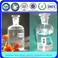 High quality producer of 99.99% industrial methanol price