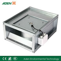 Rectangular wall mounted industrial exhaust fan