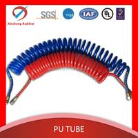 GUANGDONG XINDONG Pneumatic PU Spiral Coil Air Hose/air spring hose