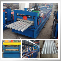 Top quality corrugated iron sheet making machine roll forming