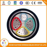 600V 1000V 150mm2 xlpe insulated and pvc sheathed steel wire armoured electrical standred power cable sizes