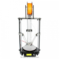 2015 new arrive Delta Rostock mini G2 pro 3d printer DIY kit