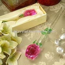 fashion crystal rose, flower,crystal plants MH-H0046