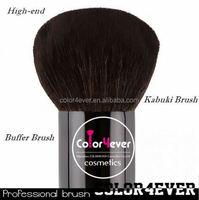 Hot sell!wholesale high quality animal hair Big kabuki brush popular cup holder makeup brushes