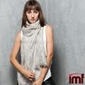 Dama deinvierno cálido 100% paisley de lana chales y bufandas