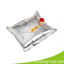 FDA,BPA Free Approval! resealable alumium foil packaging bags bag in box for egg liquid, wine .juice,edible oil.drinking