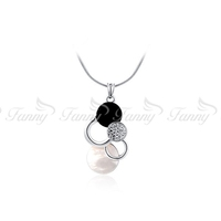 M014 Lasted Design Fashion Meaningful Initial Pendant Necklace
