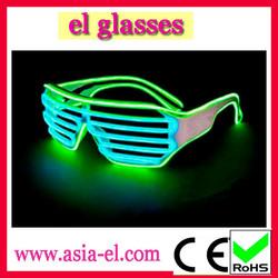 Hot Sell EL Wire Led Glasses Fashion Design Glasses Frame