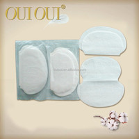 5 times breathable free samples ultra absorbent underarm sweat pads