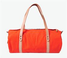 Wholesale Custom High-Capacity DNBG12LTB010 Portable Barrel Solid Canvas Bag Duffel Travel Bags