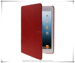 Wholesale Crazy Horse leather Smart Cover case for iPad mini 1 / 2 / 3