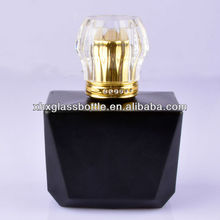 wholesale 100ml matte black perfumes and cosmetics bottle glass for sale