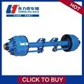 Suspensión y de servicio pesado semirremolque 16 ton tambor eje