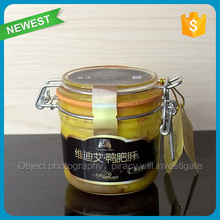 New style lead free crystle glass popular black beard glass jars and metal lids