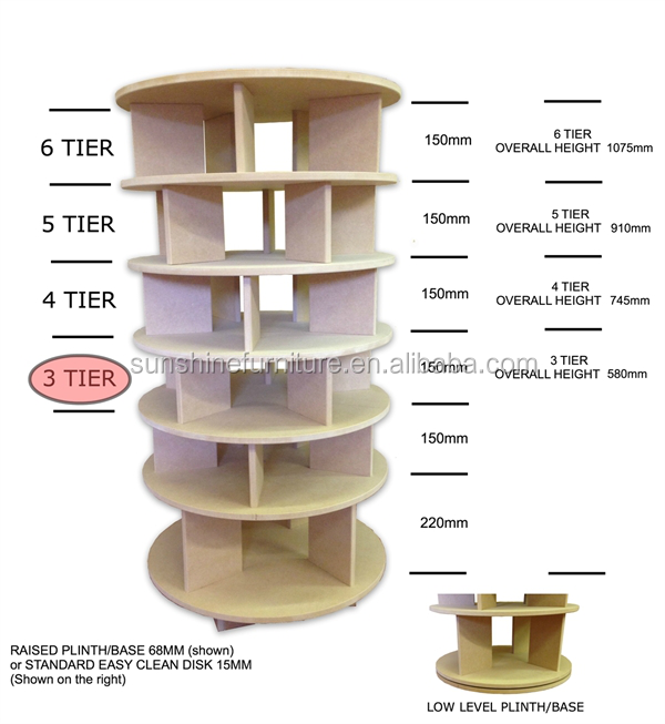 Meubles de maison nouveau design en bois ikea ronde - Meuble a chaussure rond ...