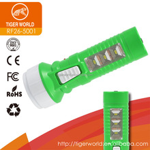 Factory direct export rechargeable LED torches with side SMD