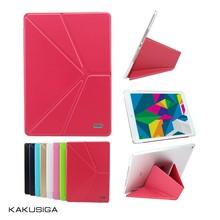 Kaku flip leather smart cover for 8 inch tablet pc case
