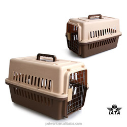 2015 new arrival pet carrying cases small animal transport dog cage