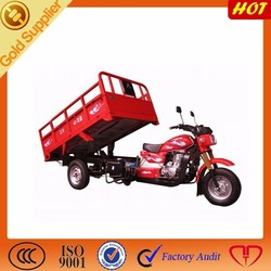 hot selling auto hydraulic cargo tricycle with zongshen engine