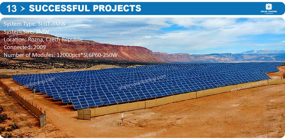 Grid tied solar system, 10MW solar power plant