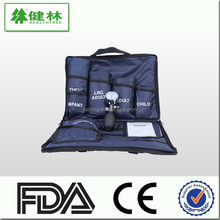 2015 new style Aneroid Sphygmomanometer 5 kit with CE FDA TUV approved blood pressure monitor set