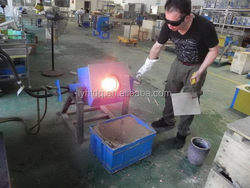 New style top sell aluminum melting holding furnace