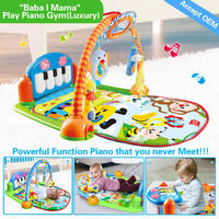 HX9107 32M memory multifunction piano function best baby playmats and gym mat