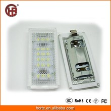 In Stock LED light for license plate for BMW E46 2D (98-03) CE passed