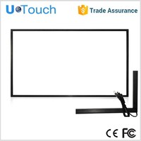 46inch 2 touch points Classic design in super slim IR multi touch screen monitor frame