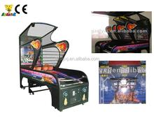 Luxury indoor basketball arcade game machine