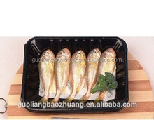 Cost&Labor Saving New Craft Water Absorbing Three-layer Flow Casting Polypropylene Uncooed and Fresh tray for Fish Packing