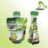 China manufacture drink water pouch/bag with spout,aluminum foil packaging