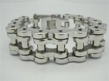 316 Stainless Steel Jewelry Cool Men's Silver Bracelet