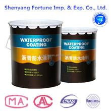 Non-Curing Liquid Rubber Asphalt Waterproof Coating for Building ( FT16 )
