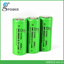 High quality!!! Gpower 26650 4500mah 60a rechargeable 3.7V battery for 26650 Brick House BOX mod