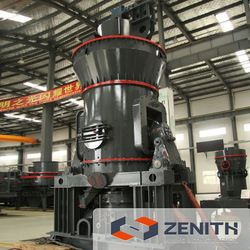 High efficiency plaster grinding machine supplier with large capacity