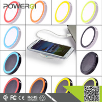 Shenzhen popular Qi wireless portable mobile phone charger for all smart phone