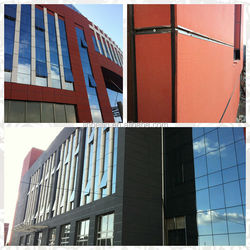 Curtain wall type Cement board Thermal insulation wall paneling