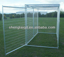 stainless steel and galvanization metal dog kennel