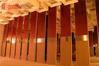 high sound absorption partition for banquet hall