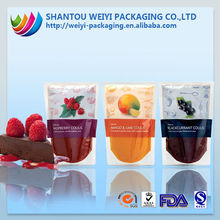 Popular wholesale salad dressing sachets food grade packing