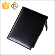 Leather wallet man,leather wallet with coin pocket,leather wallet