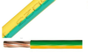 450/750 yellow green wire 50mm earth cable
