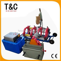 made in china from 90mm to 250mm chinese butt full-automatic plastic welder welding operation