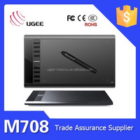 Ugee m708 10x6 inch 2048 levels art school kids graphics tablet drawing board