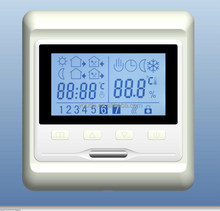 7 days programming digital thermostat with LCD Screen