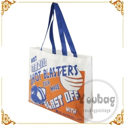 New foldable personalized shopping laminated pp non woven bag